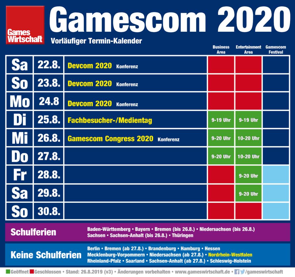 Wann Ist Gamescom 2021